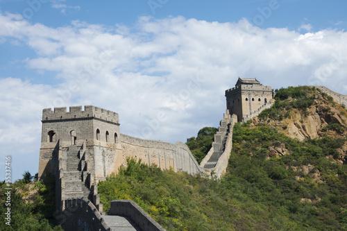 Fotografie, Obraz Great Wall of China at Jinshanling