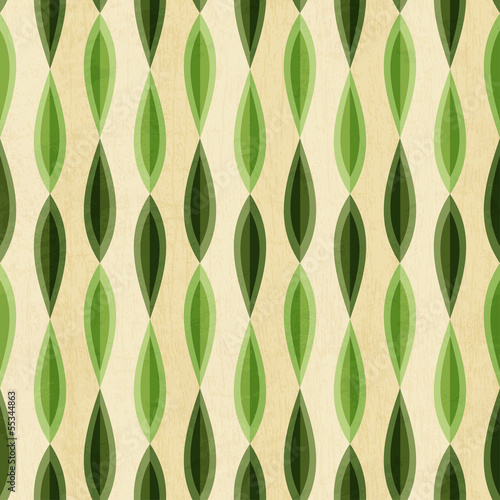 abstract foliage seamless with grunge effect pattern