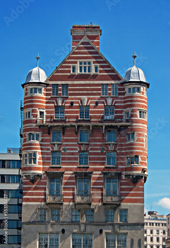 Photo  White Star Line building in Liverpool, UK