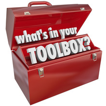 What's In Your Toolbox Red Met...