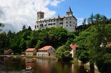 Rosenberg Castle In Czech Republic