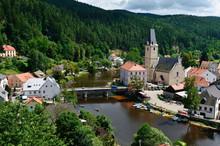 Rozmberk Nad Vltavou, Czech Republic