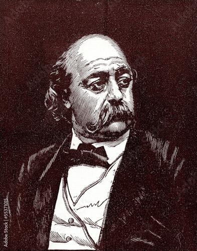 Photo Gustave Flaubert