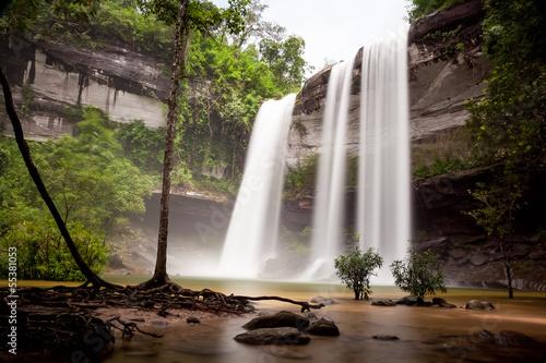 Huai Luang waterfall, Phuchong-Nayoi, Ubon Ratchathani
