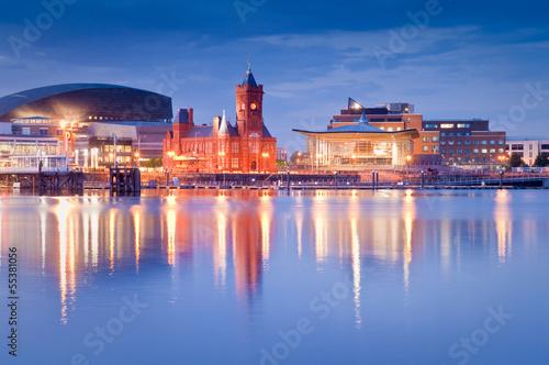 Fotografia Cardiff Bay Cityscape