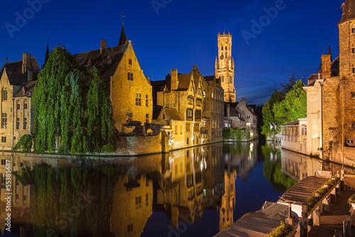 In de dag Brugge Rozenhoedkaai Bruges Belgium