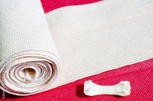 Foto Medical elastic compression bandage roll