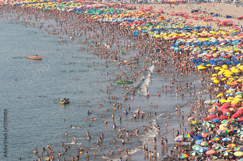 Crowded Beach - 55391486