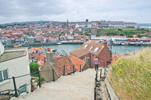 Panorama Of Whitby, United Kin...