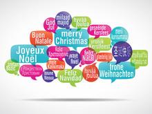 Nuage De Mots : Joyeux Noël