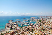 Sea Mediterranean, Beach, Sun, Port, Spain, Alicante, Alacant