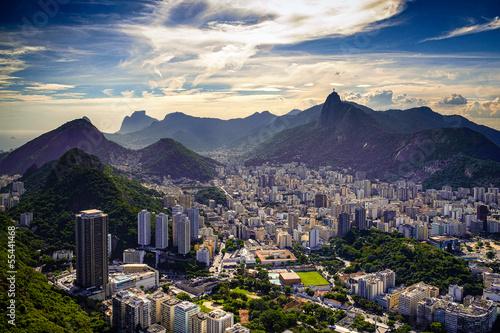 Canvas Prints Rio de Janeiro Cityscape
