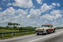 Cuba Car Cloud Sky