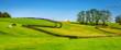 Leinwandbild Motiv Horse farm fences