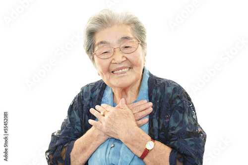 Obraz 笑顔の高齢者 - fototapety do salonu