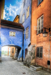 Obraz na Szkle Warsaw - Old Town
