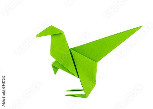 Origami Velociraptor (Jo Nakashima) - Dinosaur #6 - YouTube   357x500