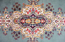 Texture Of Turkish Carpet / Kilim