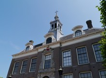 The Historic Town Hall Of Edam In The Netherlands