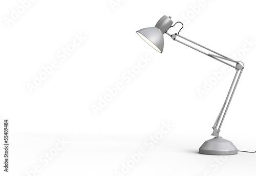 Fotografie, Obraz  Vintage desk lamp