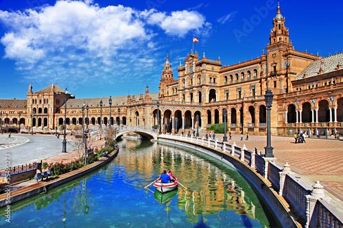 Photo  beautiful Sevilla, Spain