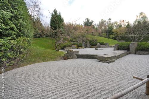 Photo sur Plexiglas Zen pierres a sable Gärten der Welt, Berlin, #7268