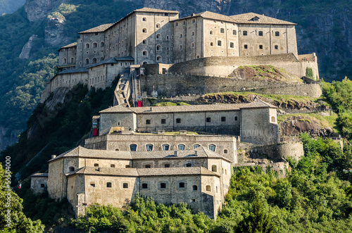 Fort Bard, Aosta Valley Wallpaper Mural