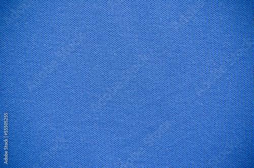 Keuken foto achterwand Leder Plain Blue Fabric Texture Background