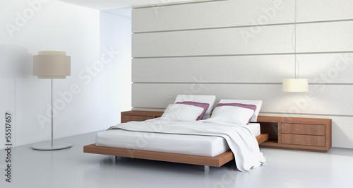 Obraz na plátně Camera da letto