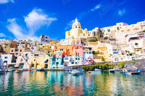 Photo sur Toile Naples Procida, Naples
