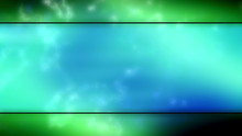 Blue Green Framed Looping Animated Background