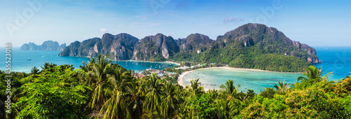Beautiful view of Phi Phi island Canvas Print