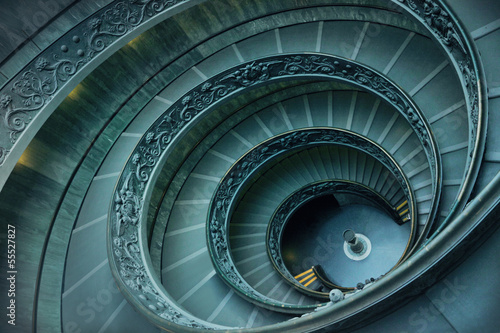 Spiral stairs in Vatican #55527827