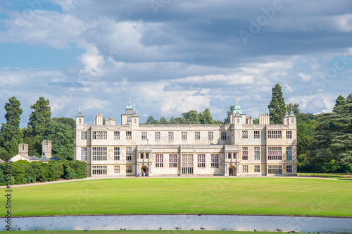 Fotografie, Obraz  English manor from 17th century