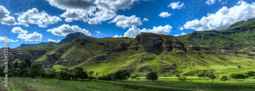 Foto op Plexiglas Afrika Lesotho Landscape