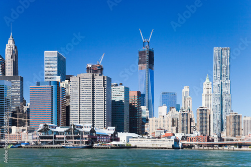 Freedom tower in New York City Poster