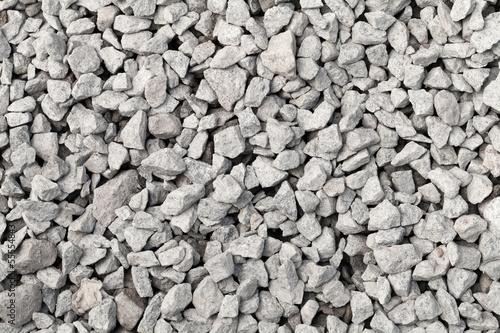 In de dag Stenen Gray industrial gravel background texture