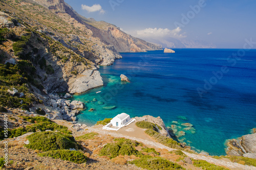 Amorgos, Greece Canvas Print