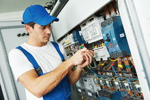 Adult Electrician Engineer Worker