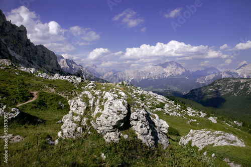 Photo Alpine landscape