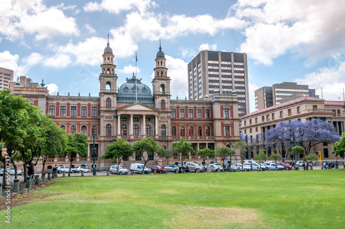 Photo Stands South Africa Palace of Justice ,Church Square