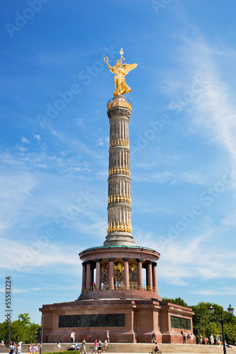 The Victory Column in Berlin, Germany Poster