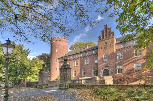 Photo  Burg Kempen im Sommer