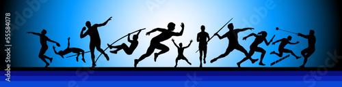 Fototapeta Leichtathletik - 14 obraz