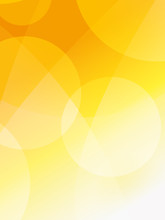 Abstract Orange Background With Circles