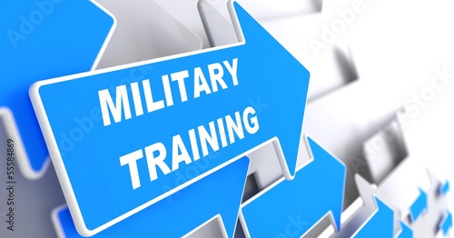 Military Training. Education Concept. #55584869