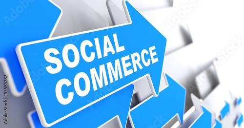 Social Commerce. Business Concept. #55585282