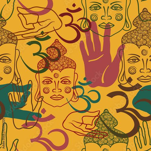 bez-szwu-wzor-atrybutow-buddism