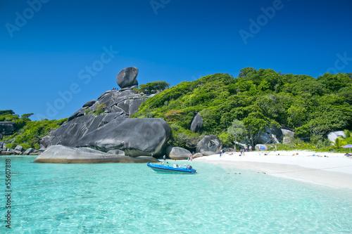 Foto-Schiebegardine Komplettsystem - Similan islands, Thailand, Phuket (von thesixthfloor89)