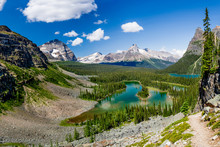 Mary Lake And Lake O`Hara